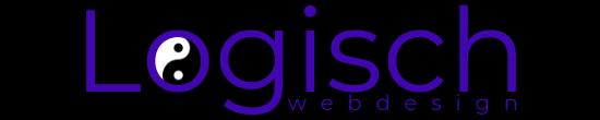 Logo Logisch Webdesign Zwarte Achtergrond